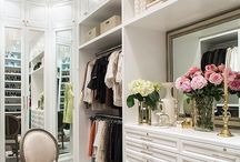 mirrored closet