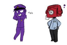 Vincent/Purple guy x3