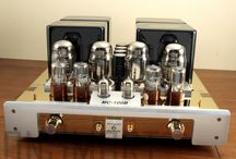 Tube Stereo Gear / Tube stereo gear, on the road to audio Nirvana! / by David Greenwood
