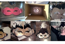 Look What I Made Ma! / DIY Masquerade Mask! / by Angie Fritsch