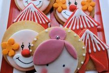Circus and Carnival Cookies