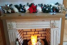 vianoce krb stromcek vyzdoba