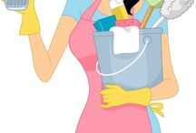 Cleaning Helpers! / by Cheryl Strand Winbourn