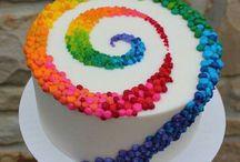 sütemények, torták