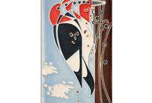 Charley Harper Motawi Tile