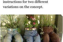 kvetináče s ryfiel