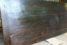 Reclaimed wood / Reclaimed wood furniture, Southeast Asia furniture, reclaimed wood bar stools