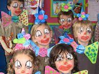 Kindertoneel circus