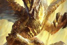 dragon de luz