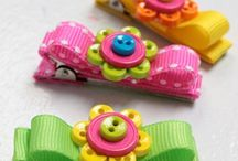 CRAFTS: Hair Clips and Bows and Headbands / by Leonor Santos