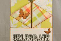 CARDS - Fun Fold / by Christine Lucas