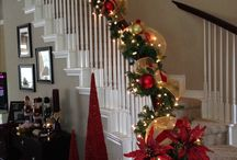 schodiště / vánoce