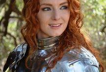Redhead: Virginia Hankins