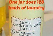 home made laundry detergant