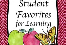 Student Learning Favorites - K - 12 / This collaborative board includes priced and free products that students like the best.  Pinners, please limit pins to the products that students are especially eager to use for learning. Spread them out to give other pinners a chance. If you would like to be invited to pin on this board contact me at GrammaElliottCreations@gmail.com.