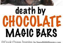 Death by choc magic bars