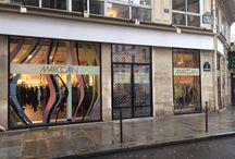 MarcCain / Pop Up Store Marc Cain à la Cremerie de Paris 15 rue des Halles, Angle de la rue des Déchargeurs