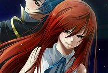 Anime - Fairy Tail Erza Scarlet & Jellal Fernandes