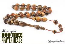 Wooden Prayer Beads / Wooden prayer beads are made from various tree types by hand. Most commonly used tree types are guayacan tree, walnut tree, olive tree, rosewood, ebony tree, odd tree, wenge tree & more...