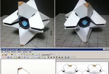 papercrafted ghost
