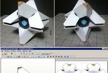 papercrafted Destiny
