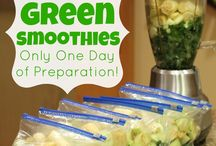 Smoothies and other quick healthy recipies