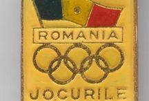 olympic pin / Romania olympic pin Los Angeles 1984