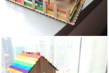 Popsicle sticks craft