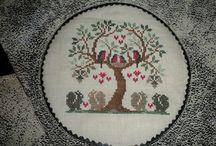 Montage de broderie main / Florilège des montages couture que j'ai réalisé avec les broderies main que l'on me confie.
