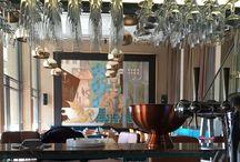 Restaurant, bar en horeca / Dit bord gaat over diverse projecten die Stabilo Interieurbouw gerealiseerd heeft wat betreft restaurants, bars en horeca.