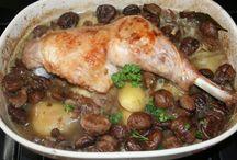 cuisse de dinde aux marrons