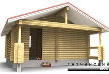 Проекты домов и бань из бруса
