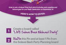 Solavei Bash Webcast Party