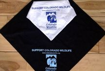 CWF Bandanas / For only $14 you can support CWF and we'll send you a bandana. $9 of your $14 donation goes directly to CWF so we can continue to help conserve Colorado's all-important habitat. Thank You! Visit https://app.etapestry.com/onlineforms/ColoradoWildlifeFederation/Bandanas.html