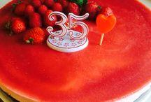 Bavarois framboises fraises pistaches