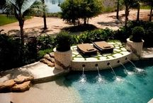 Pools and back yards