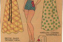 Påklædningsdukker og dukkehuse