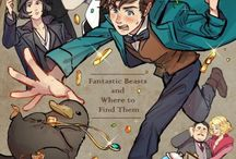 Newt Scamander and others