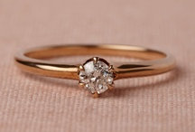 Rings and Things / Inspiration for Engagement/Wedding Rings / by Jasmine Castagna