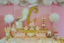 Angel baptism party ideas