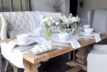 Dining Room / Inspiration for a warmer dining space