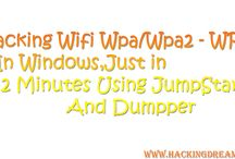 Hacking Wifi Easily / How To Hack Wifi WPA WPA2 WPS In Windows Just In 2 Minutes Using JumpStart And Dumpper