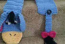 Bufandas Crochet