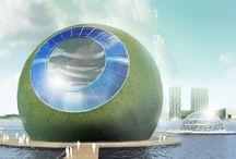 Floriade 2022 / In het kader van het initiatief Arc2lab doet Arc2 architecten in samenwerking met andere partners onderzoek naar actuele thema's in de ontwerppraktijk. De co-creatieve research is met name gericht op duurzaamheid en milieuvriendelijk bouwen, waarvan verschillende projecten specifiek gericht zijn op de Floriade 2022 Growing Green Cities in Almere.
