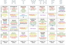 paleo menu plan