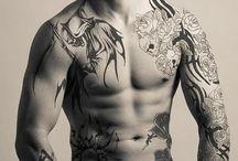 model tattoo