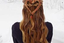Valentine's hair beauty