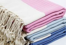 Pestemal Turkish Towels / The Turkish pestemal towels are woven on hand looms by using vegetable dyed natural cotton, linen, silk and bamboo yarns in Anatolia where is one of the richest regions on world in terms of dyestuffs plants and recipes of natural dyes. Turkish towels that formatted with handwork and eye-straining effort now has become a trend all over the world. It combines the aesthetic and quality.