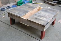 pallette furniture and other items