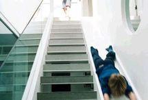 portaat ja liukumäet